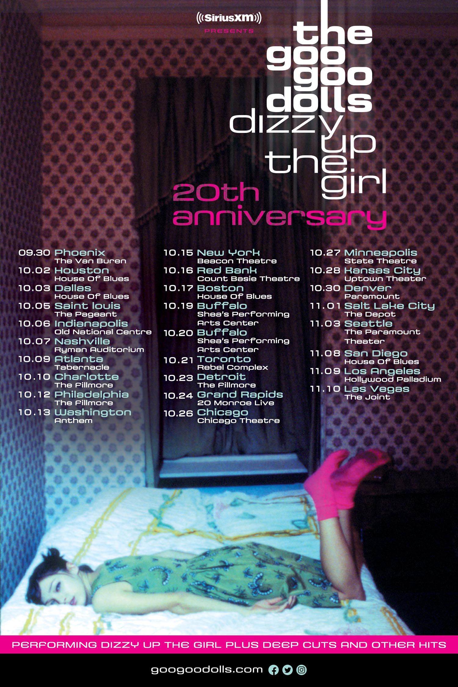 Dizzy Up The Girl Fall Tour Goo Goo Dolls Official Blog